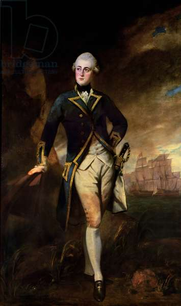 Captain Lord Robert Manners, 1782