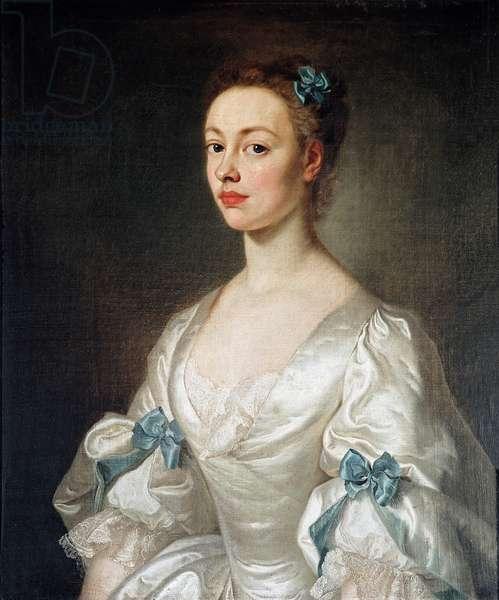Elizabeth Drake (oil on canvas)