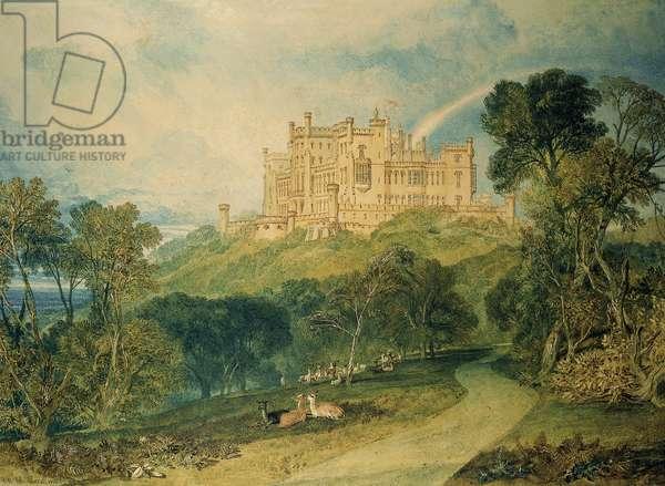 View of Belvoir Castle, 1816 (w/c on paper)