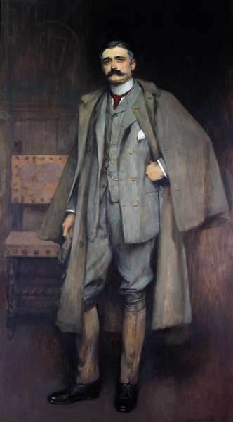 Henry Manners, 8th Duke of Rutland, 1895 (oil on canvas)