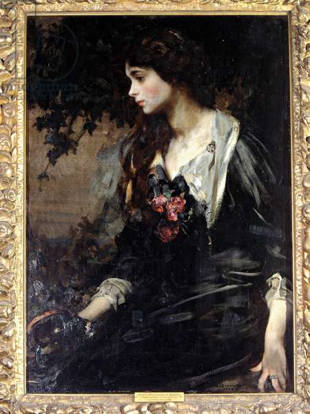 Marjorie, Marchioness of Anglesey, 1906 (oil on canvas)