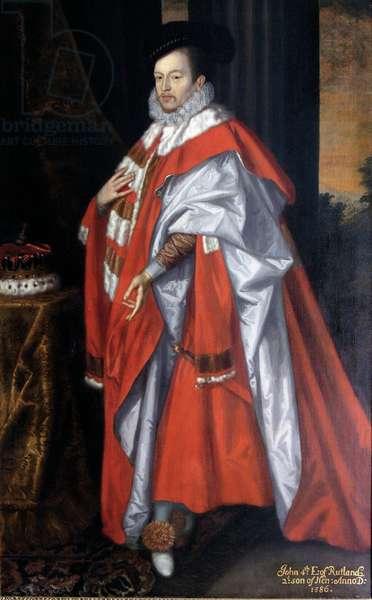 John Manners, 4th Earl of Rutland, c.1675 (oil on canvas)