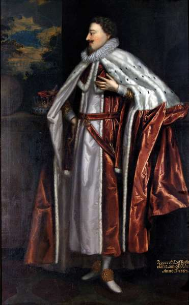 Roger Manners, 5th Earl of Rutland (1576-1612), c.1675 (oil on canvas)