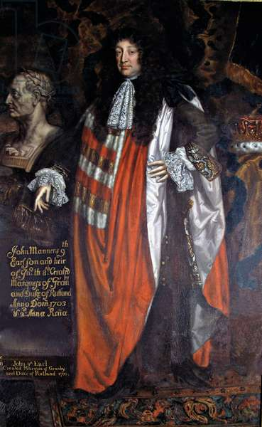 John Manners, 9th Earl of Rutland, c.1700 (oil on canvas)