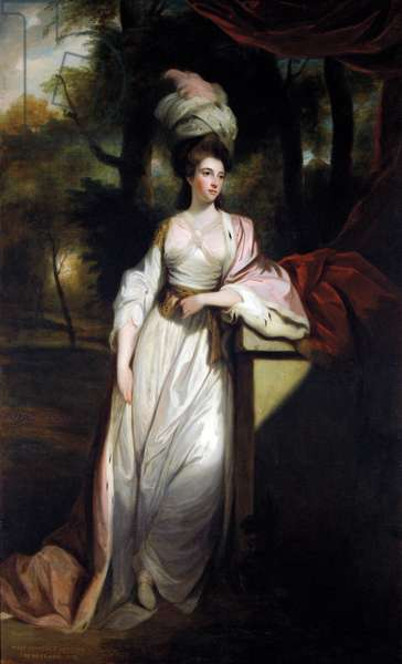 Lady Mary Isabella Somerset, 1799 (oil on canvas)