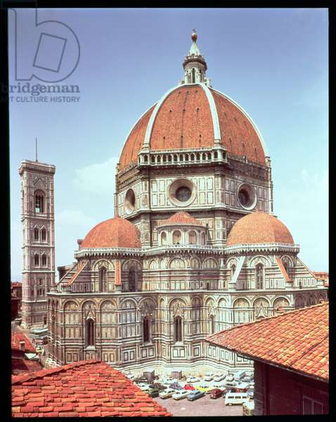 Exterior view of S. Maria del Fiore, 1294-1436 (photo)