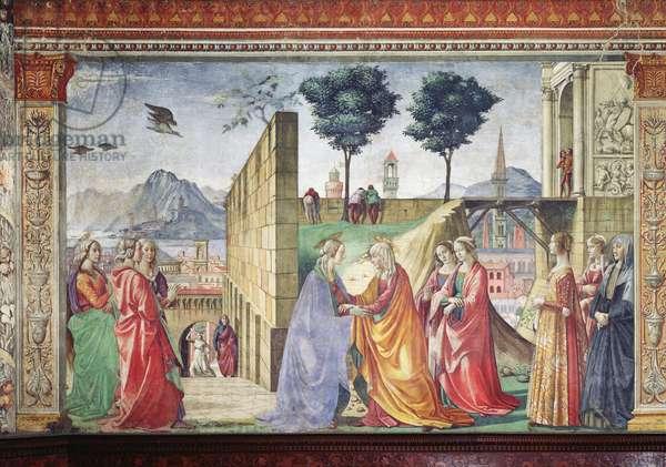 The Visitation (fresco) (for detail see 124356)