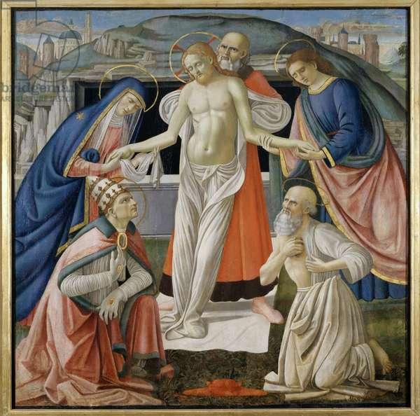 Pieta, 1479 (tempera on panel)