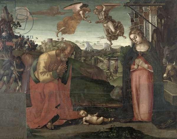 Nativity, 1667 (tempera on panel)
