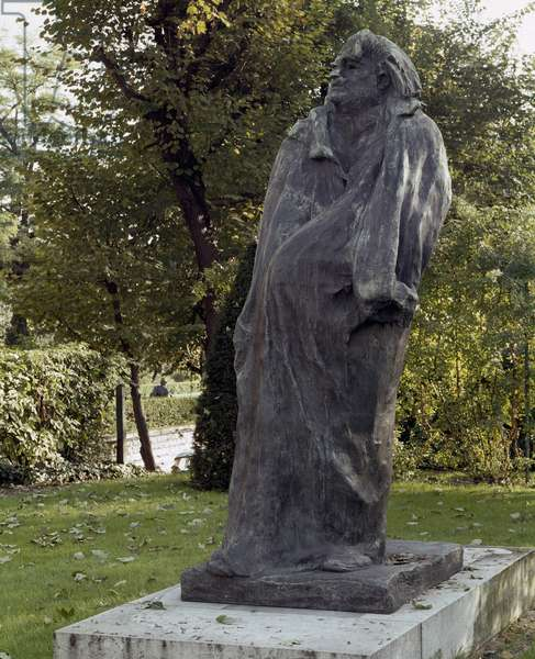 Monument Honore de Balzac (1799-1850) (bronze sculpture)