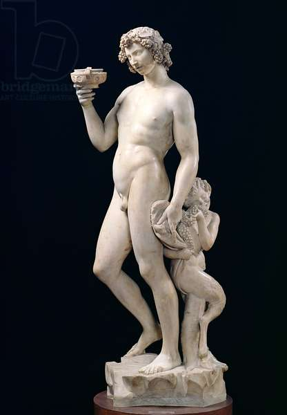 The Drunkenness of Bacchus, 1496-97 (marble)