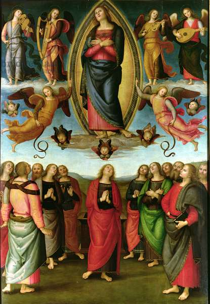 Assumption of the Virgin, 1506 (tempera on panel)