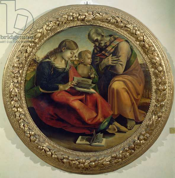 The Holy Family, c.1485 (oil on panel)