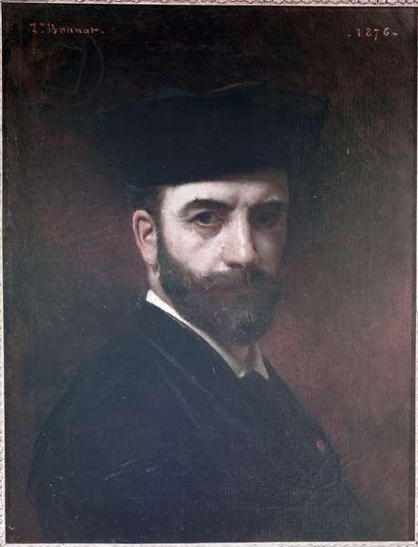 Self Portrait, 1876 (oil on canvas)