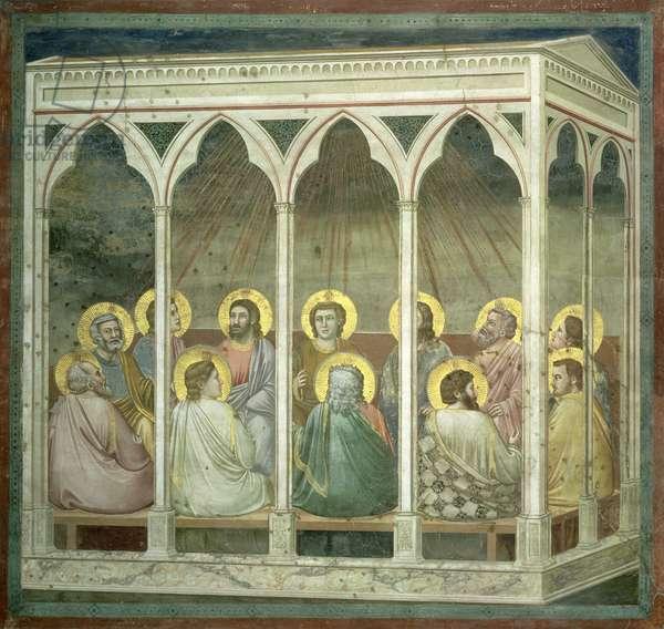 The Pentecost, c.1305 (fresco)