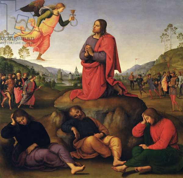The Agony in the Garden, 1492 (oil on panel)