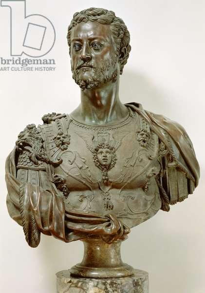 Portrait Bust of Cosimo I de' Medici (1519-74) 1545 (bronze)