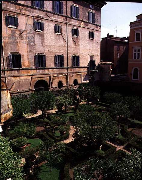 View of the gardens, designed by Antonio da Sangallo the Younger (1483-1546) and Nanni di Baccio Bigio (d.1568) 1543-54 (photo)