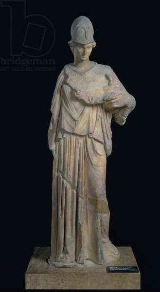 Athena with a cist, Roman copy of a 4th century BC original (marble)