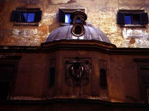 Exterior view of the family chapel, designed by Antonio da Sangallo the Younger (1483-1546) and Nanni di Baccio Bigio (d.1568) 1543-54 (photo)