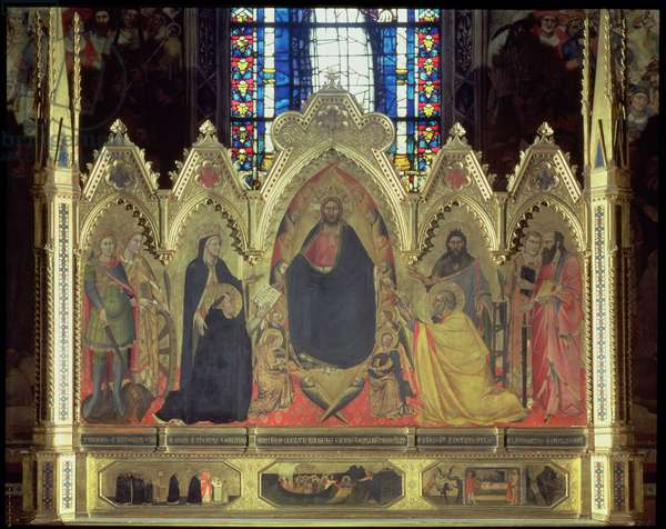 The Strozzi Altarpiece, 1357 (panel) (see 75592-6 for details)