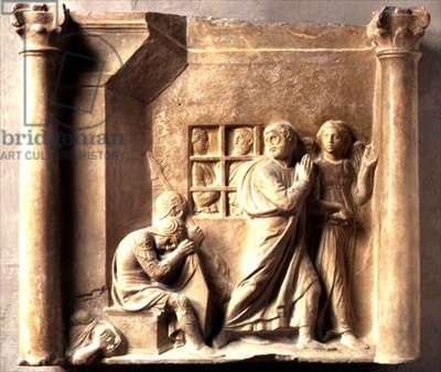 St. Peter Released from Prison (marble)