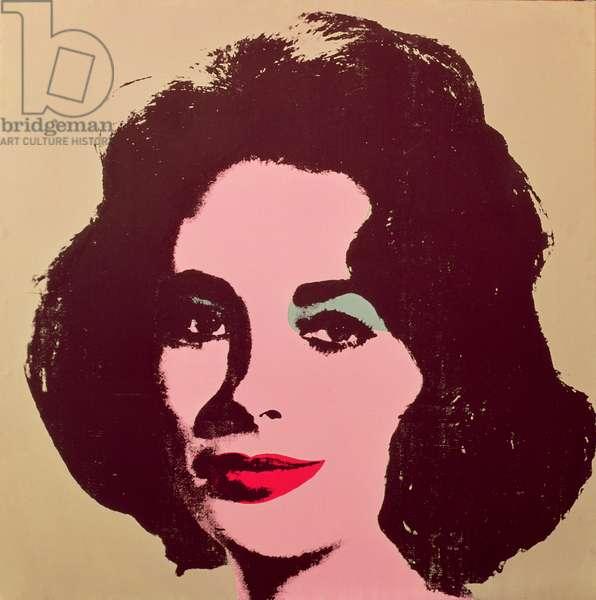 Liz 3, 1963 (silkscreen)