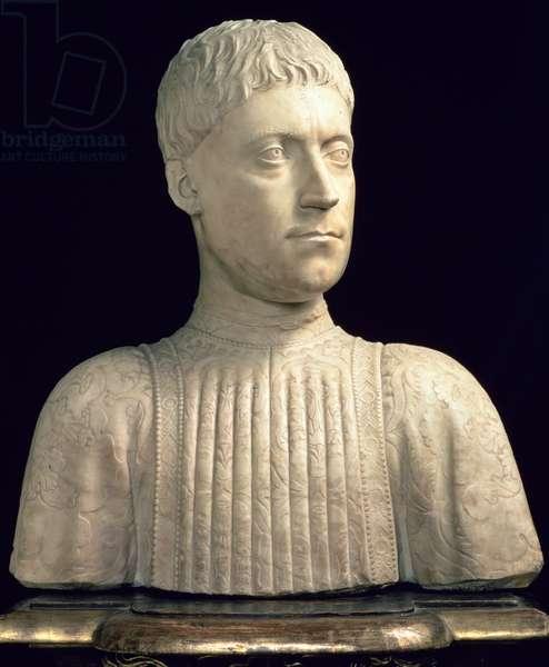 Piero de' Medici (1414-69) 1453 (marble)