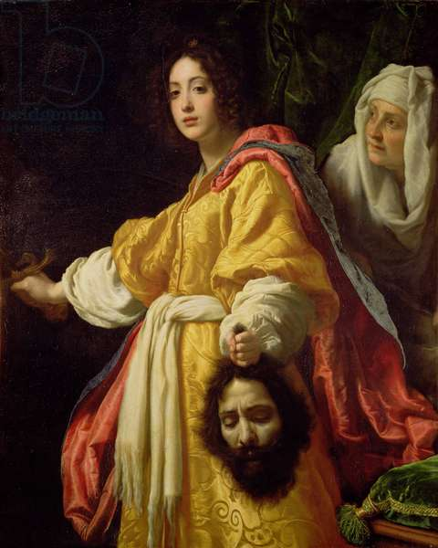 Judith with the Head of Holofernes, c.1615 (oil on canvas)