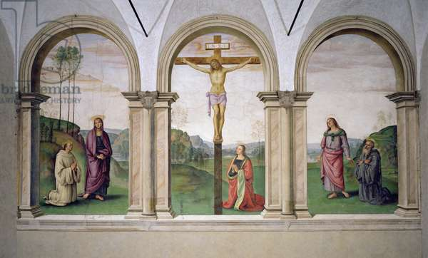 The Crucifixion, 1494-96 (fresco)