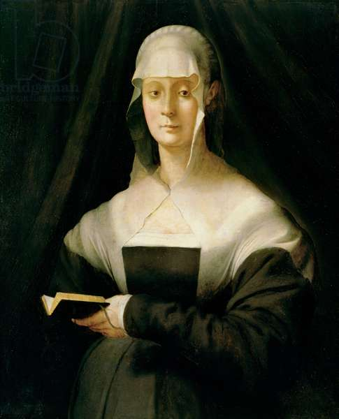 Portrait of Maria Salviati, 1543 (oil on canvas)