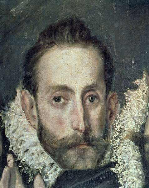 Self Portrait, detail from The Burial of Count Orgaz, 1586-88 (oil on canvas)
