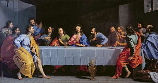 The Last Supper, called 'The Little Last Supper' (oil on canvas)