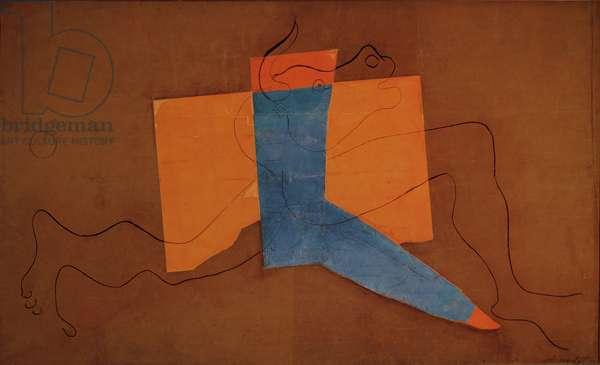 Minotaur, 1928 (oil on canvas)