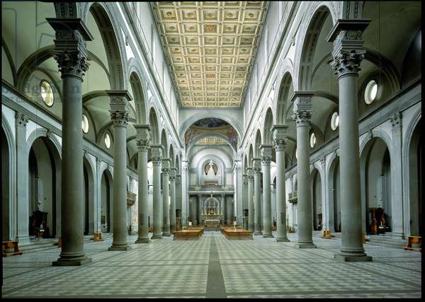 View of the Nave, 1425-46 (photo)