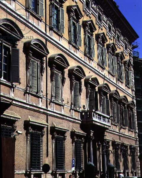 View of the facade, designed by Paolo Marucelli and based on a design by Cigoli (1559-1613) 1637-42 (photo)