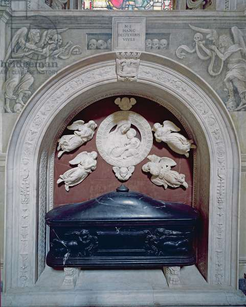 Tomb of Filippo Strozzi (1428-91) in the Strozzi Chapel, 1491-95 (marble)