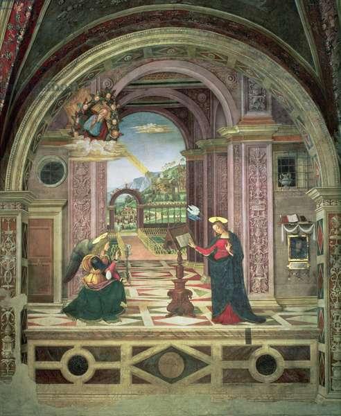 Annunciation, 1501 (fresco)