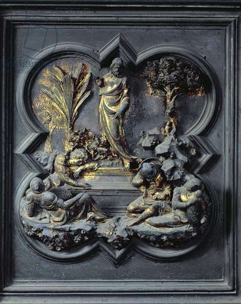 The Resurrection of Christ, nineteenth panel of the North Doors of the Baptistery of San Giovanni, 1403-24 (bronze)