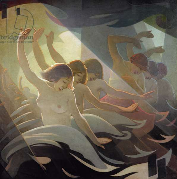Dance Rhythm, 1920 (oil on canvas)