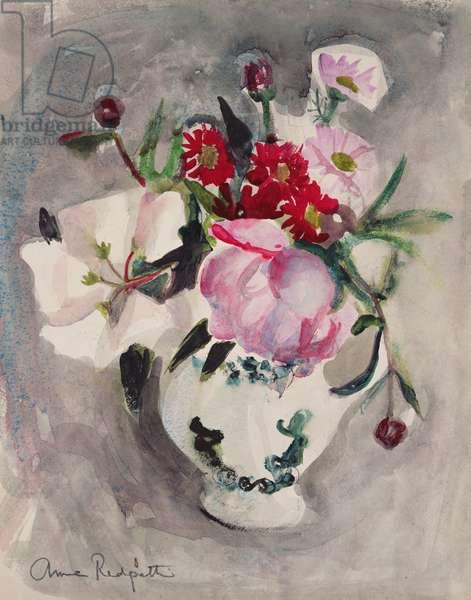 Flowers, c.1955 (w/c on paper)