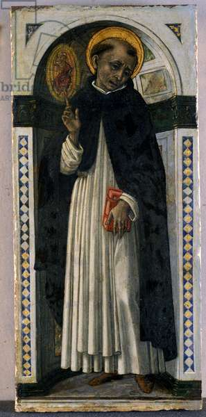 St. Vincent Ferrer, c.1500 (tempera on wood)