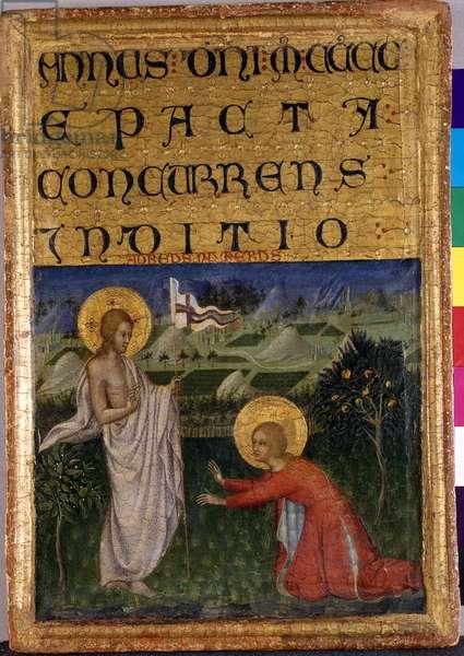 Noli me tangere, c.1450 (tempera on poplar wood)