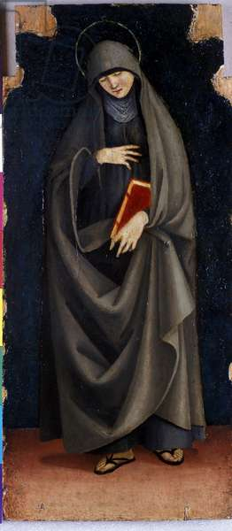 St. Clare, c.1515-20 (tempera on poplar wood)