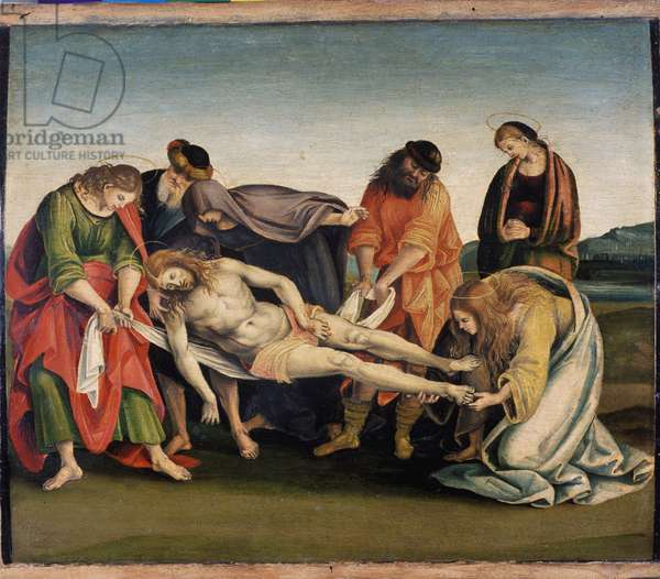 Christ being carried to his tomb, c.1507 (tempera on poplar wood)