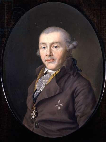 Portrait of Prince August von Sachsen-Gotha-Altenburg, 1795 (oil on canvas)