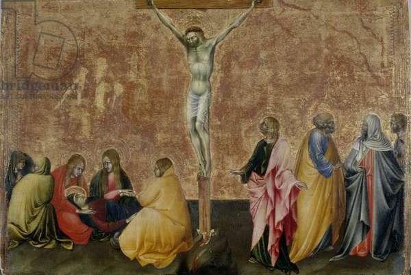 The Crucifixion of Christ, c.1445 (tempera on poplar wood)