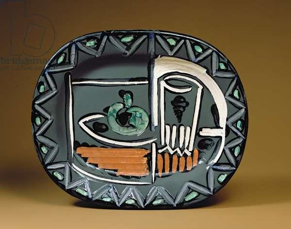 'Still Life' dish (ceramic)