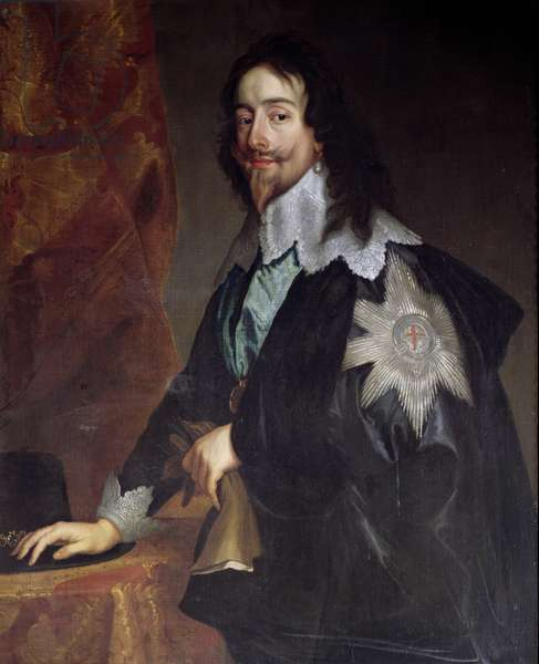 King Charles I (1600-49) (oil on canvas)