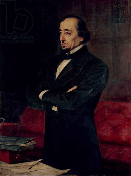 Portrait of Disraeli